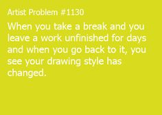 art student problem | Tumblr
