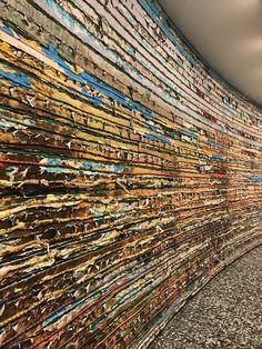 Mark Bradford: Pickett's Charge - Hirshhorn Museum and Sculpture Garden Pickett's Charge, Mark Bradford, Hirshhorn Museum, Collage Ideas, Assemblages, Contemporary Paintings, American Artists, Textured Walls, City Photo