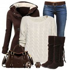 Sweater boots cute