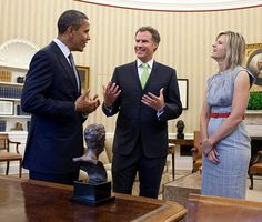 Will Ferrell chats up Obama