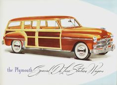 PLYMOUTH DE LUXE STATION WAGON