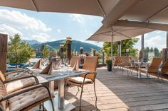 My starting point is the Almmonte Sensum Suites, an inviting and uncomplicated boutique hotel with a clean design located in Wagrain in the Salzburger Land region of Austria. Salzburg Austria, Silent Night, Clean Design, Patio, Vacation, Boutique, Luxury, Outdoor Decor, Home Decor