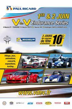 V de V Endurance Series 1-2 Juin au Circuit Paul Ricard Karting, Circuit Paul Ricard, Endurance, Challenge, Courses, Concert, Comic Books, June, Cart