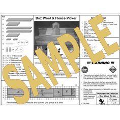 "Download Box Wool Picker Plans - 8 1/2"" x 11"""