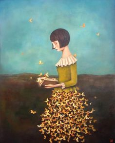 Metamorphosis Of A Metaphor, Duy Huynh - my baby. Art And Illustration, Illustrations, Fantasy Kunst, Fantasy Art, Art Amour, Inspiration Art, Art Graphique, Surreal Art, Oeuvre D'art