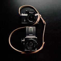 Hasselblad 500cm   Nikon F / photo by Benj Haisch