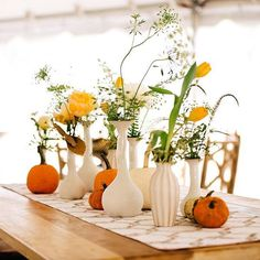 #Thanksgiving is just one day away and we're feeling inspired! What decor are you using for your #autumn #wedding? Go #behindthescenes of this set up #ontheblog! | CharlestonWeddingGuide.com/blog