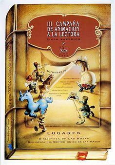 III Campaña de animación a la lectura: ciclo superior, 7 de enero al 30 de abril de 1992/ Organiza: Centro Cultural de Las Rozas (1992)