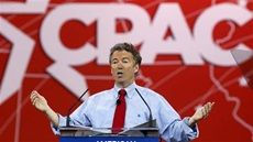 Senator Rand Paul of Kentucky speaks at the Conservative Political Action Conference (CPAC) at National Harbor in Maryland February 27, 2015.