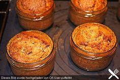 Butter - Vanille - Haselnuss - Kuchen im Glas mit Schokotröpfchen