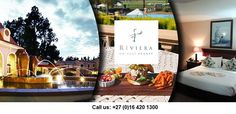 The Riviera is an exceptional inland resort flanking the Riviera on Vaal Resort with golf course and spa facilities. The resort also includes various restaurant Promotion, Packaging, Table Decorations, Marketing, Best Deals, Home Decor, Decoration Home, Room Decor, Wrapping