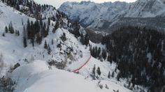 Rio Gere slope, Cortina d'Ampezzo.