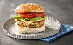 Homemade Veggie Burgers ~ 7 SP 1/6 using 2 Tb Olive OIl