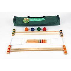 Junior Croquet Set in Canvas Bag (75cm)