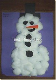 Simple kid Christmas crafts - Click image to find more DIY & Crafts Pinterest pins