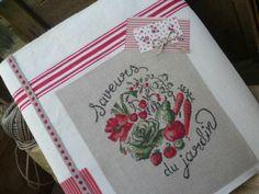 Veronique Enginger ''Dans mon jardin au point de croix''  Saveurs du jardin