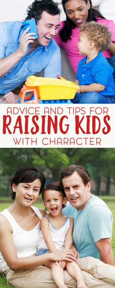 Being a parent is hard. Sometimes it's overwhelming and you'll likely hear a lot of conflicting advice. Well, I have some more advice for you with these tips on raising kids with character.