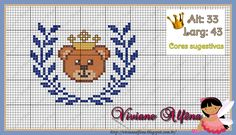 Bom diaaa!   Mais uma linda semana se inciando.   E por aqui muitos trabalhos, graças à Deus!   E essa semana passada estive em companhia d... Cross Stitch Horse, Cross Stitch For Kids, Cross Stitch Embroidery, Cross Stitch Patterns, Knitting Patterns, Disney Fabric, C2c Crochet, Pixel Art, Fabric Crafts