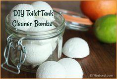 DIY toilet tank clea