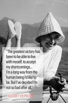 10 Inspirational Audrey Hepburn Quotes to Live By  - MarieClaire.com