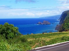 When taking a drive around the Big Island of Hawaiʻi, there's always a scenic view.