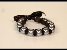 DIY Tutorial: Bracelets / DIY Stretchy Pearl Bracelet - Bead&Cord