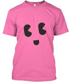 Tees Smily Fuchsia Camiseta Front
