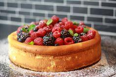 THE STEPFORD HUSBAND: Gemeinsam sind wir mehr... Cheesecake mit Früchten