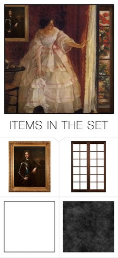 """Looking Out The Window"" by ritadolce ❤ liked on Polyvore featuring art"