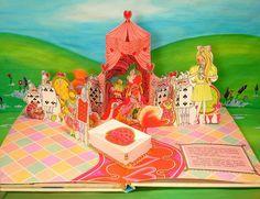 Vintage Alice in Wonderland Pop-Up Book page 10 | Flickr - Photo Sharing!