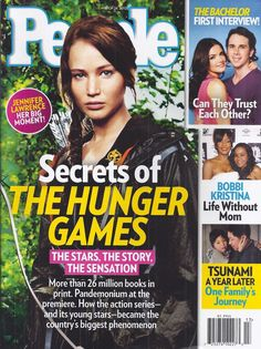 People magazine with Hunger Games