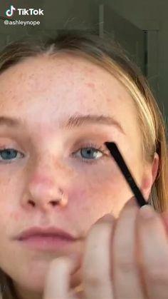 Makeup Eye Looks, Natural Makeup Looks, Cute Makeup, Skin Makeup, Beauty Makeup, Glowy Skin, Crazy Makeup, Eyeshadow Makeup, Makeup Goals