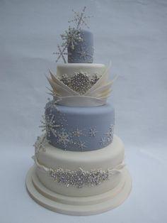 8 délicieux gâteaux de mariage pour une réception hivernale Plus