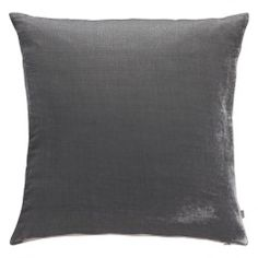 The Regency 58 x grey velvet cushion will add a little luxe to your interiors. Made from a super-soft silk and viscose blend with a linen reverse, it comes with a feather-filled cushion pad for upmost comfort. Available in a range of colours and sizes. Dark Blue Lounge, Grey Lounge, Grey Cushions, Velvet Cushions, Luxury Bedding Collections, Luxury Bedding Sets, Black Bed Linen, Velvet Curtains, Grey Curtains
