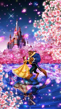Beauty & The Beast! Beauty & The Beast! Disney Belle, Disney Love, Disney Art, Images Disney, Disney Pictures, Disney Princess Drawings, Disney Drawings, Beauty And The Beast Art, Disney Kunst