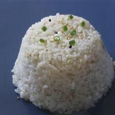 """Coconut Rice 