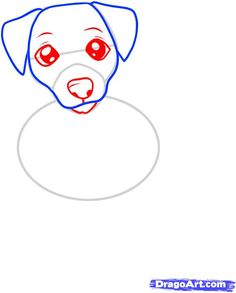 How to Draw a Jack Russell Terrier, Step by Step, Pets, Animals, FREE Online Drawing Tutorial, Added by Dawn, June 10, 2011, 1:37:01 pm