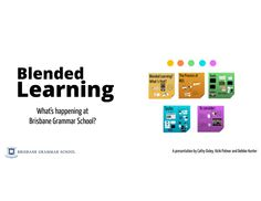 blended-learning-environment by Australian School Library Association via Slideshare