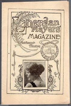 Vintage Lonergan Players' Magazine for Dec. 22, 1913  What Happened to Mary