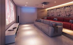 Home theater | A Home Cinema - Borges Landeiro Verano