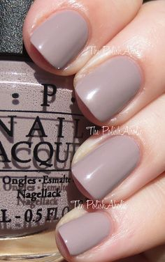 OPI Spring/Summer 2014 Brazil Collection Swatches: Taupeless beach
