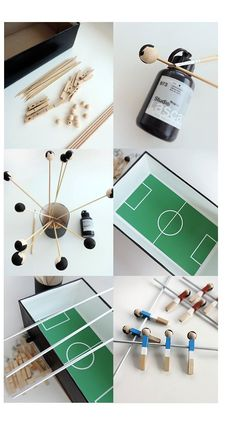Soccer Crafts, Diy Crafts For Kids, Crafts To Sell, Glue Gun Projects, Presents For Girlfriend, Diy Cadeau, Original Gifts, Imaginative Play, Diy Toys