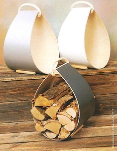 puunkantoteline vaneri - Google-haku Firewood Storage, Wood And Metal, Metallica, Napkin Rings, Wood Crafts, Cuff Bracelets, Rustic, How To Make, Diy
