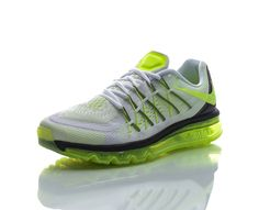 huge selection of 345e5 5267a Nike - Air Max 2015 - Löparskor - Vit Gul - Herr   www. Sportamore.se