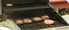Grilled Cheese Filled Burgers Monday, May 18, 2015