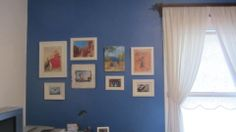 Pictures on my Blue Wall.
