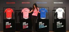 Presentadas las maglias del Giro de Italia 2016