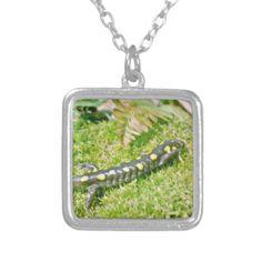 Salamander Personalized Necklace Personalized Necklace, Fashion Necklace, Necklaces, Jewellery, Green, Jewelery, Jewelry Shop, Chain, Schmuck