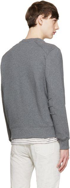 Belstaff: Grey New Chanton Modern Sweatshirt | SSENSE