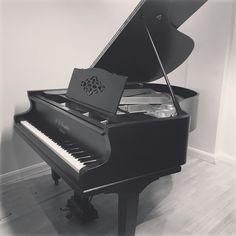 antique 1908 Irmler Grand Piano rebuilt by Chiltern Pianos